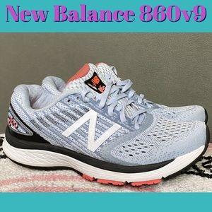 New Balance 860v9 Women's Running shoes 7.5D